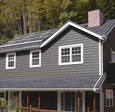ニューイングランド様式の外観デザイン