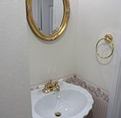 トイレの洗面スペース